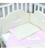Сменный постельный комплект Верес Sleepyhead pink (3ед.)