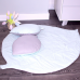 "Коврик-лепесток игровой с подушками (2 шт.) Верес ""Mint-gray"""