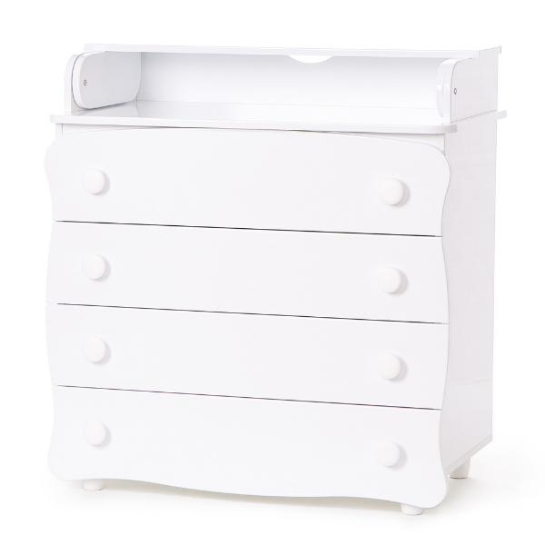 Комод-пеленатор Верес 16 (цвет: белый)