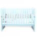 Кроватка Верес Соня ЛД13 (цвет: тифани) съемные спицы