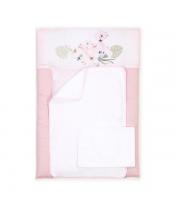 Пеленальный матрас Верес 50*70 Flamingo pink
