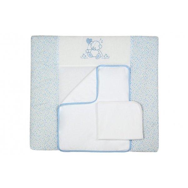 Пеленальный матрасик (72*80) VeresSweet Bear blue, арт. 401.2