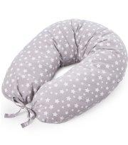 Подушка для кормления Верес Smiling animals grey (165*70)