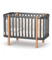 Кроватка Верес Монако (цвет: темно-серый)