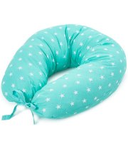 Подушка для кормления Верес Smiling animals mint (165*70)