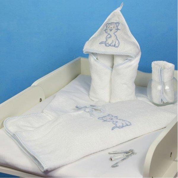 Пелюшка для купання Veres Little Cat blue, арт. 190.4