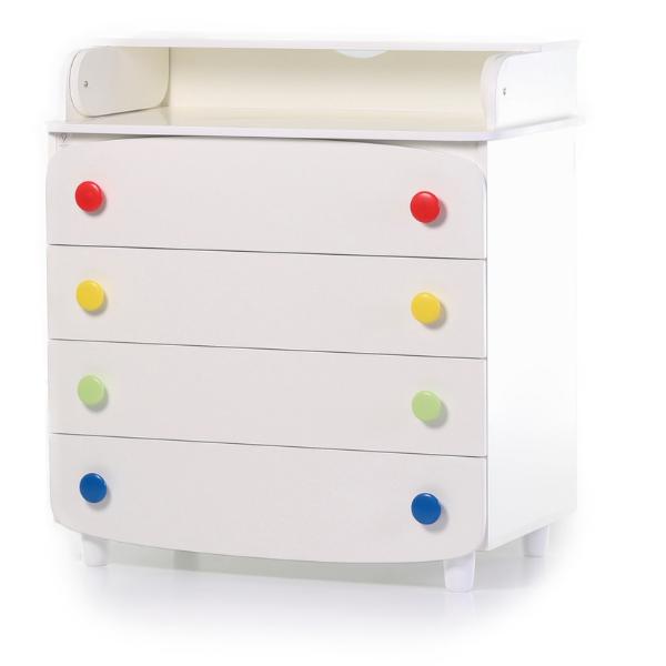 Комод-пеленатор Верес 900 ДСП (цвет: радуга)
