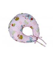 Подушка для кормления Veres Medium pink (200*90), арт. 300.03