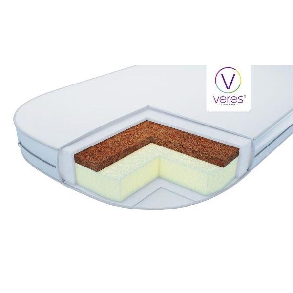 Матрас в люльку Верес Coconut+Elastic foam (80*60*7 см)