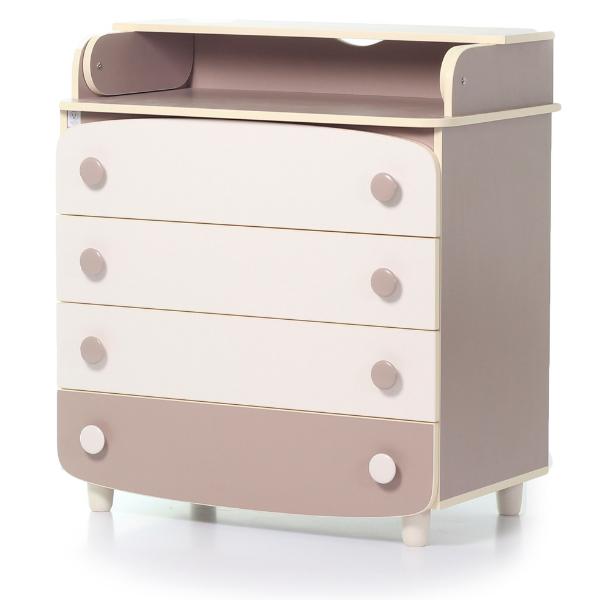 Комод-пеленатор Верес 900 ДСП (цвет: капучино)