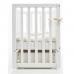 Кроватка Верес Соня ЛД13 (цвет: белый) съемные спицы