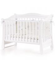 Кроватка Верес Соня ЛД18 (цвет: белый) ЕС (новый функционал)