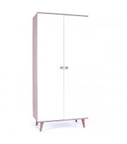 Шкаф Верес Нью Йорк 850 ящики внутри (цвет: капучино-белый)