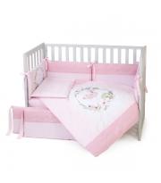 Постельный комплект Veres Flamingo pink (6 ед.)