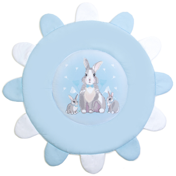 """Коврик игровой Верес """"Summer Bunny blue"""""""