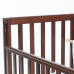 Кроватка Верес Соня ЛД13 (цвет: орех) съемные спицы