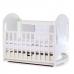 Кроватка Верес Соня ЛД8 (цвет: белый) (съемные спицы)