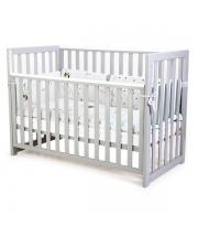 Кроватка Верес Соня ЛД13 (цвет: серый) съемные спицы