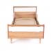 Кровать подростковая Верес Нью Йорк (цвет: бело-буковый) 190*80