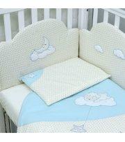 Сменный постельный комплект Верес Sleepyhead blue (3ед.)