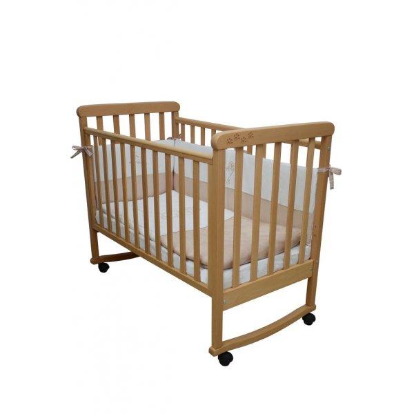 Детская кроватка Верес Соня ЛД12 бук (лапки), арт. 12.01