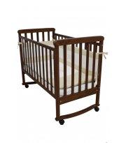 Детская кроватка Верес Соня ЛД12 орех (с резьбой)
