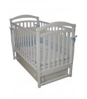 Детская кроватка Верес Соня ЛД6 белая/маятник/ящик