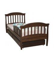 Детская кровать Верес Соня подростковая 1900x800 орех, арт. 17.03