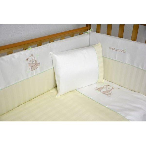 Сменная постель Veres Cute Panda cream (3ед.) арт. 153.1.02