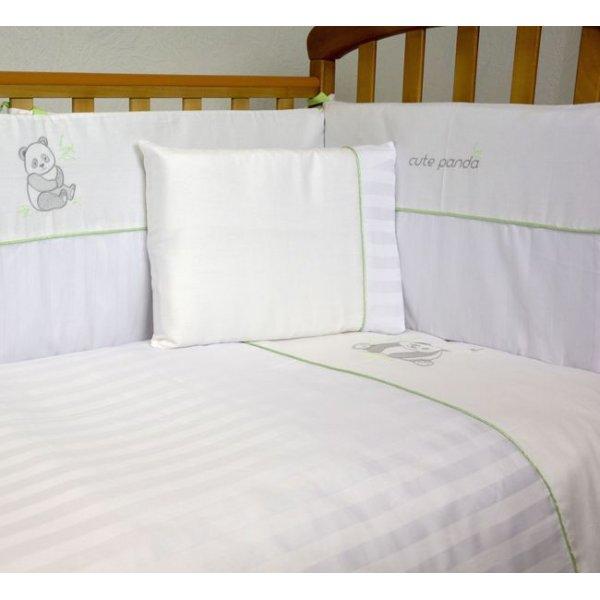 Сменная постель Veres Cute Panda white (3ед.) арт. 153.1.03