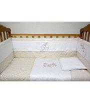 Сменная постель Veres Happy Bunny beige (3ед.) арт. 153.1.04