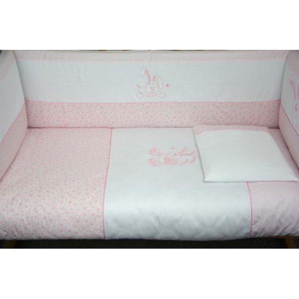 Сменная постель Veres Happy Bunny pink (3ед.) арт. 153.1.05