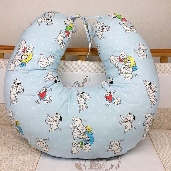 Подушка для кормления Veres Medium blue (200*90), арт. 300.01