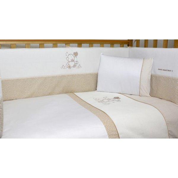 Сменная постель Veres Sweet Bear beige (3ед.) арт. 154.1.03