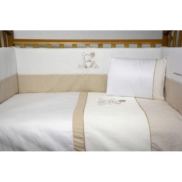 Сменная постель Veres Sweet Bear beige (3ед.) арт. 153.1.06