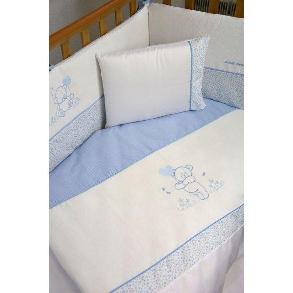 Сменная постель Veres Sweet Bear blue (3ед.) арт. 153.1.07
