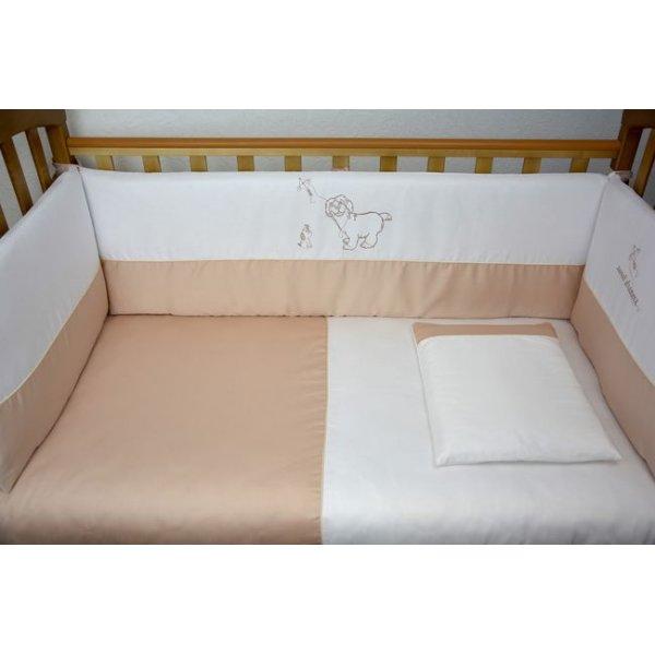 Защита(бампер) Veres Sweet dreams beige(4ед.) арт. 154.1.04