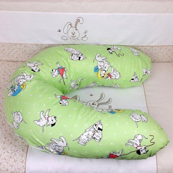 Подушка для кормления Veres Medium green (200*90), арт. 200.02
