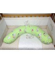 Подушка для кормления Veres Soft green (165*70), арт. 201.02