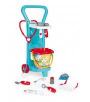 Детский игровой набор с тележкой Маленький доктор