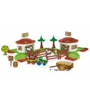 Игровой набор Kid Cars 3D ранчо