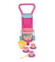 Детский игровой набор с тележкой Пикник