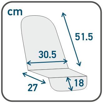 Размер прогулочного блока